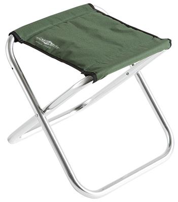 Stolička - taburet 082 (GREEN) (dural ? 22mm) (40x29x33cm)