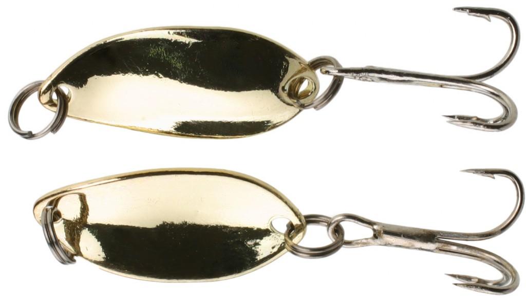 Třpytka - Mini 2.2 cm - 1.4 g Zlatá / Zlatá 1 ks