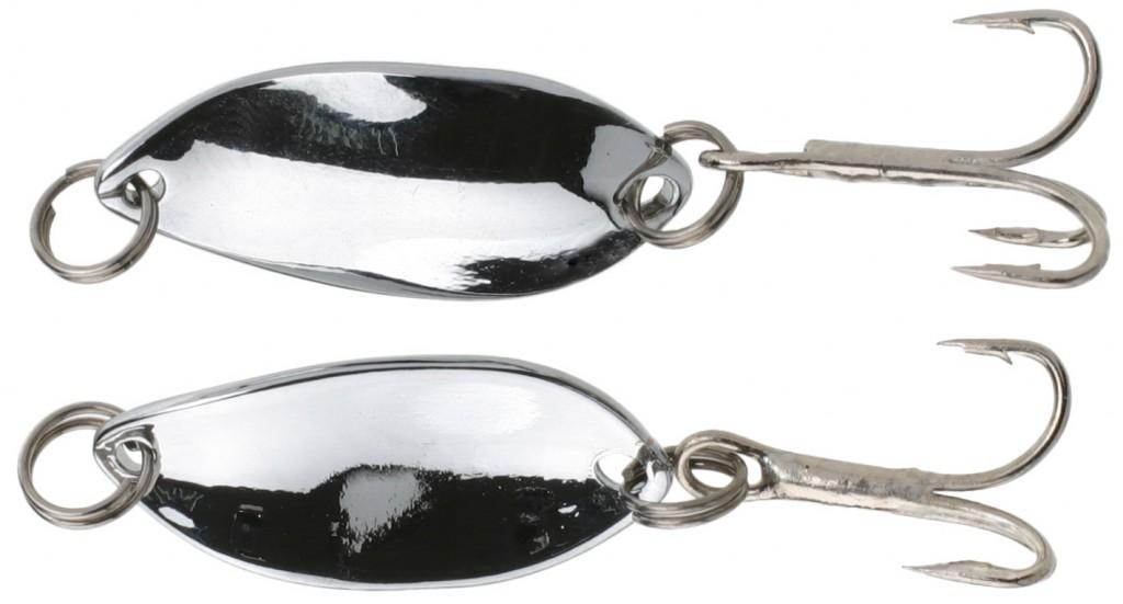 Třpytka - Mini 2.2 cm - 1.4 g stříbrná / stříbrná 1 ks