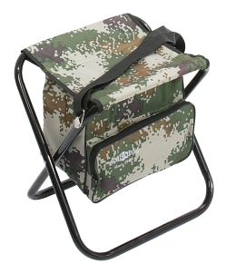 FOLDED STOOL WITH BAG (CAMOUFLAGE) (40 x 38 x 31 cm)