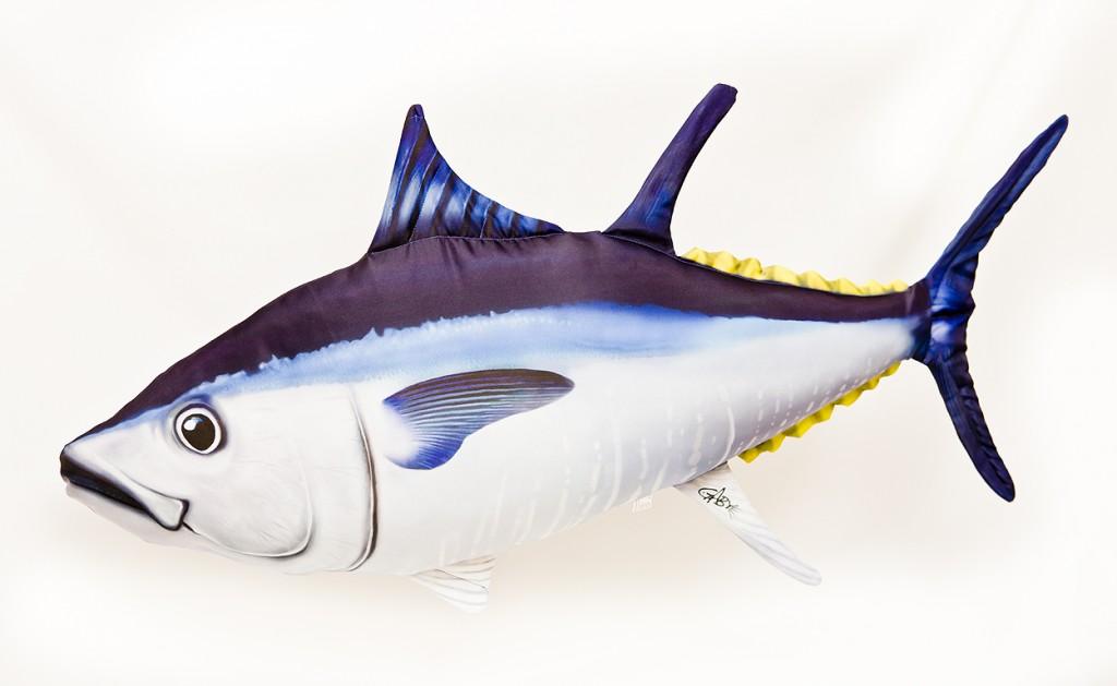 Tuňák - 65 cm polštářek