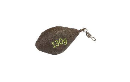 """TRI-FLAT"""" Olověná zátěž krátká (D.GREEN) - 40 g - 10 ks"""