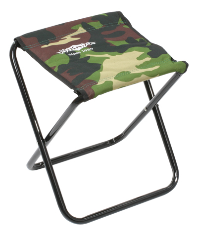 Stolička skládací - taburet (CAMOUFLAGE) (max 80 kg) (31x30x36cm)