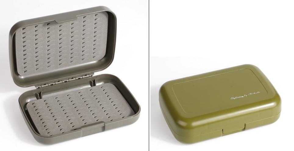 BOX - Muškařský AM 034B-GN (zelený) ( 128x86x34mm )