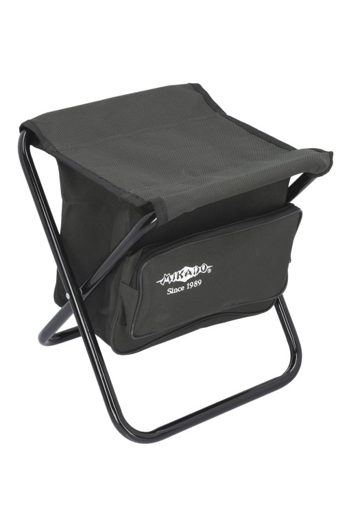 FOLDED STOOL WITH BAG (GREEN)