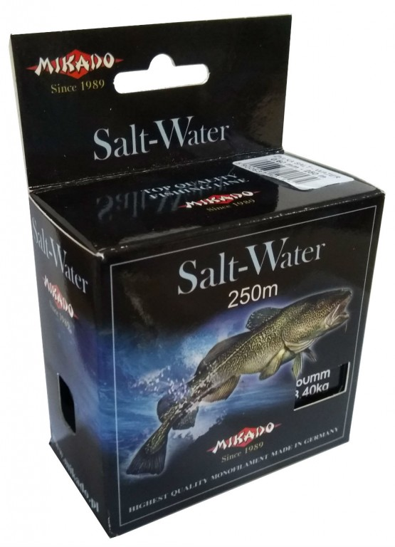 Vlasec - SALT WATER 040 250 M Nosnost 13.70kg 1 cívka