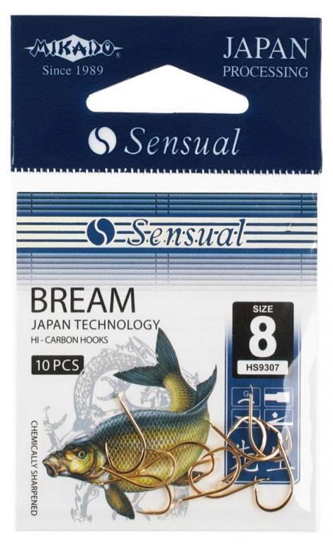 Háčky SENSUAL - BREAM vel. 4 BN lopatka - 10 ks