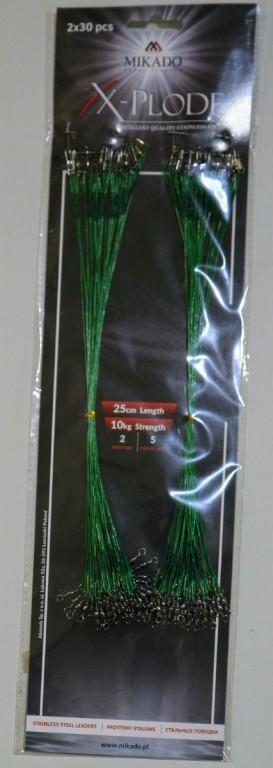 Lanka XPLODE SADA 25cm / 10kg - GREEN 2x30 ks zbrojene