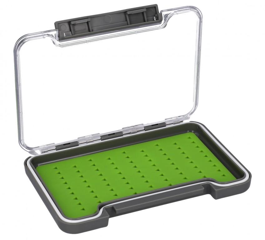BOX - Muškařský FLY BOX (šedý) 137x95x16mm