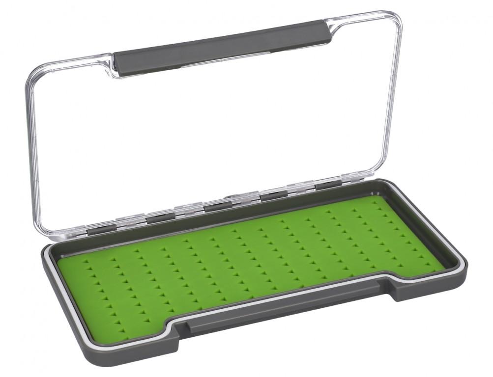 BOX - Muškařský FLY BOX (šedý) 187x102x16mm