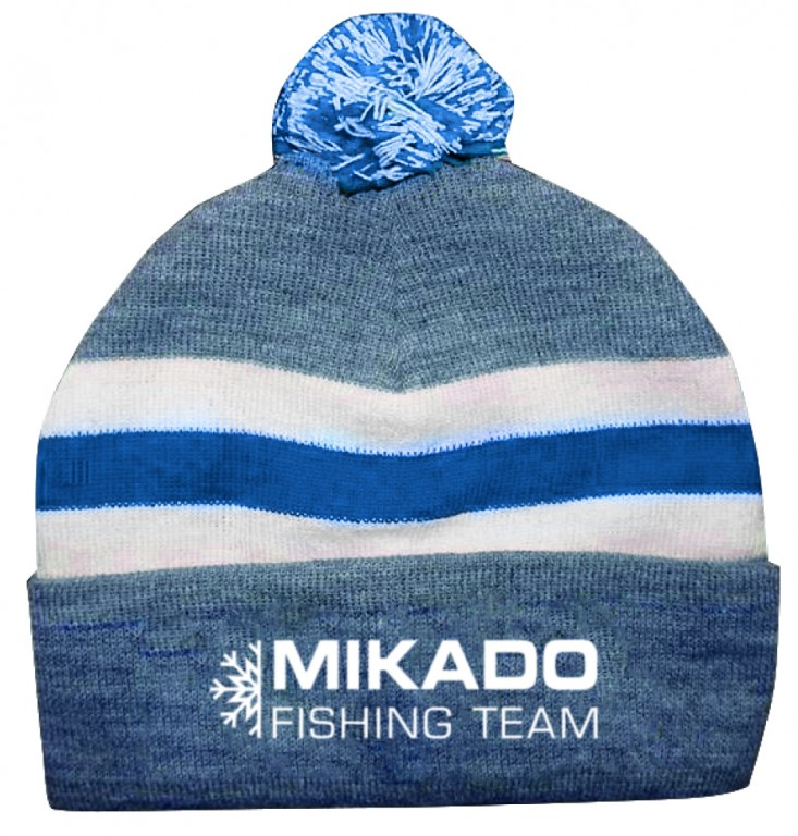 Zimní čepice - MIKADO BLUE&WHITE