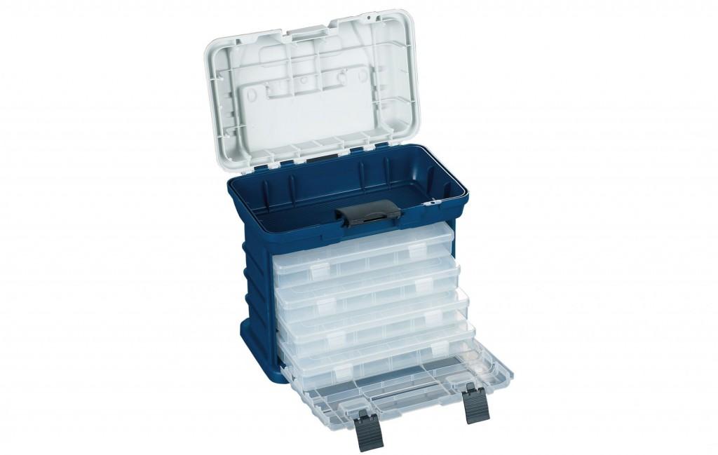 BOX - Bedna Tmavě Modrá A013 (28 x 18 x 27 cm)