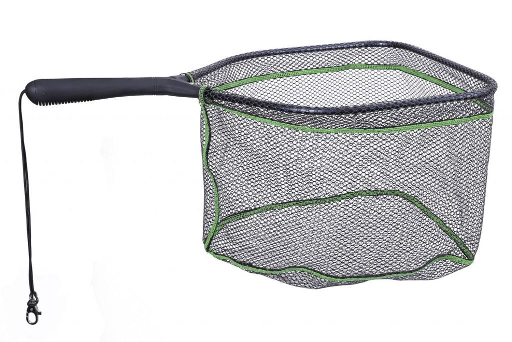 Podběrák - pstruhový pogumovaný 62cm / 40 x 35 cm