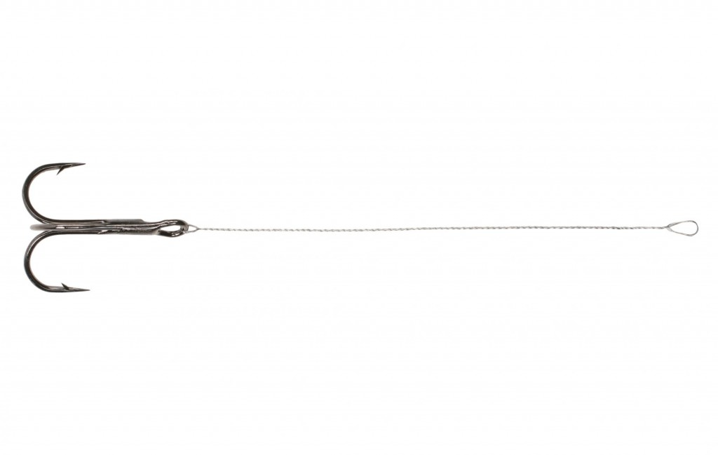 DOZBROJKA  Stinger ocel 11cm x 10kg / trojháček č. 2 - bal.2ks