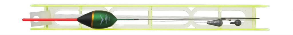Splávek Set SZ-036 - 5.0 g - vlasec: 0.16/0.14 mm / háček 10 - 1 ks
