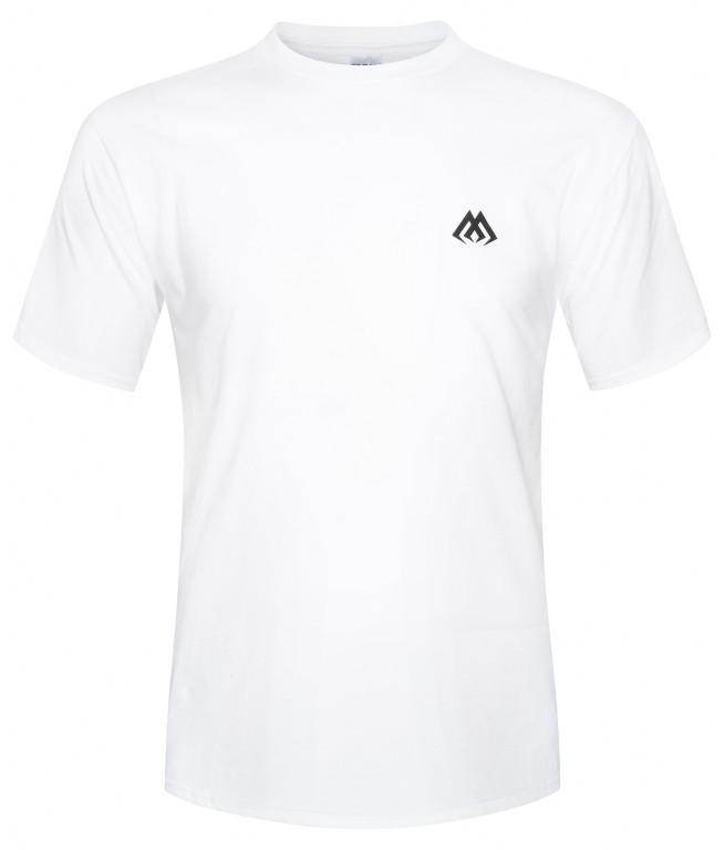 TRIKO S POTISKEM MIKADO BÍLÉ M - malé logo