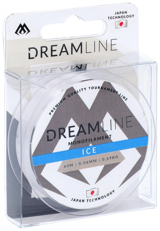 Vlasec - DREAMLINE ICE (CLEAR) - 0.18mm / 4.79kg / 60m - 1 cívka