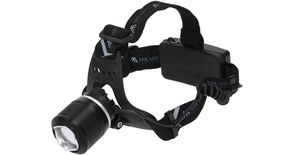 Čelovka - 550 LUM + UV světlo