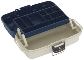 BOX - Kufřík A001 BLUE (modro-bílý) (37x20x15)