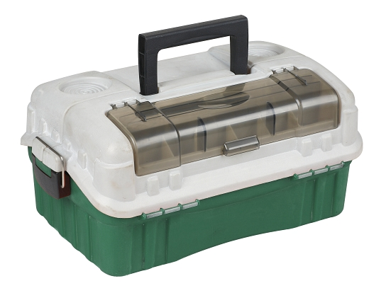 BOX - Kufřík A015 DARK GREEN (Tmavě zelený)  (44 x 25 x 18 cm)