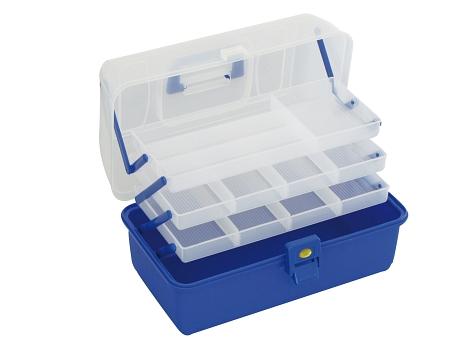 BOX - Kufřík B002 BLUE (modrý) (36 x 20 x 20 cm)
