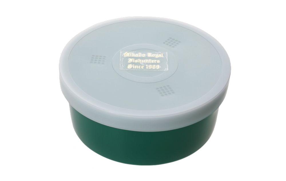 BOX - Miska na živou nástrahu GREEN 040 (10.6 x 4.6 cm)