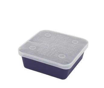 BOX - Miska na živou nástrahu G011 (13.5 x 13.5 x 5 cm)