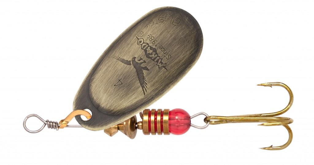 SPINNER - BLASTER vel. 5 - OLD GOLD ( staré zlato )