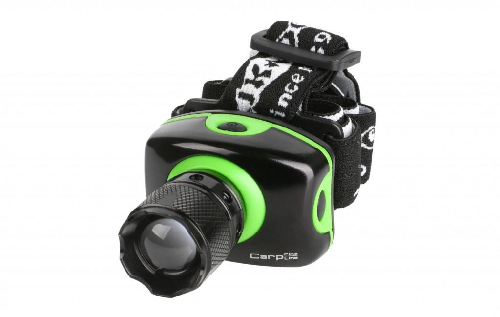 HEADLAMP WITH FOCUSING LENS – 1 LED