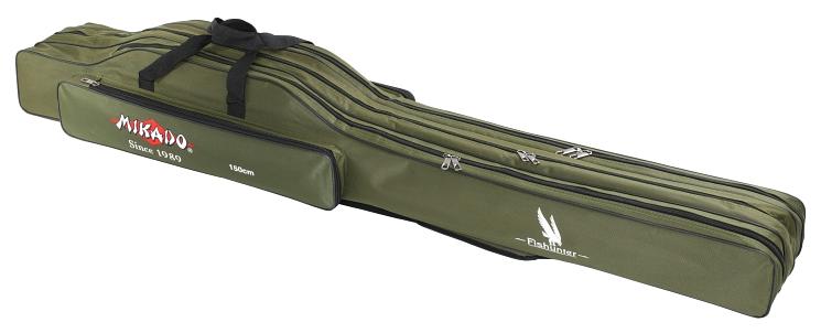 HOLDALL 3 COMP. 150 cm / GREEN